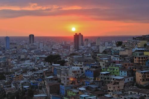 ecuador guayaquil santiagodeguayaquil guayas cerrosantaana olétusfotos sunset atardecer