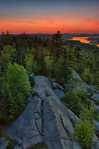 new york old mountain lake ny sunrise canon landscape dawn bald upstate adirondacks forge fulton adk rondaxe waterfallguy