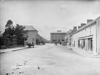 Market Square, Bagenalstown, Co. Carlow, late 19th century | by National Library of Ireland on The Commons