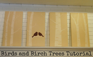 Birds and Birch Trees Painting Tutorial | by Sarah.WV
