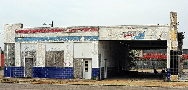 Greyhound Bus Station (the building has been torn down)