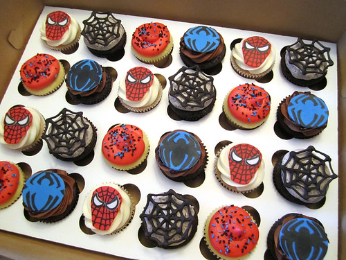 Spiderman Birthday Cupcakes | by Cutie Cakes WY