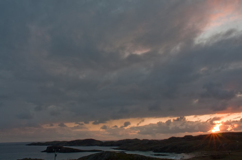 sunset sea sky sun nature water clouds canon landscape eos scotland zonsondergang day cloudy wolken sutherland zon landschap schotland oldshoremore flickrhivemindgroup