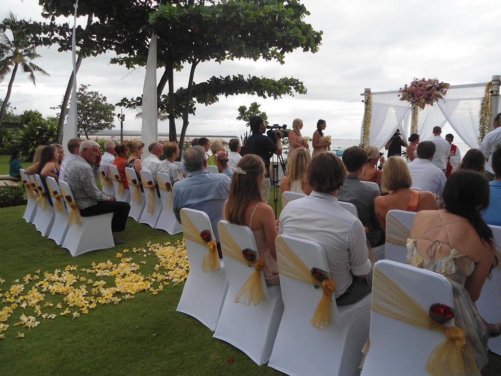 Beautiful Wedding Set Up At The Patra Bali Resort Villas Flickr