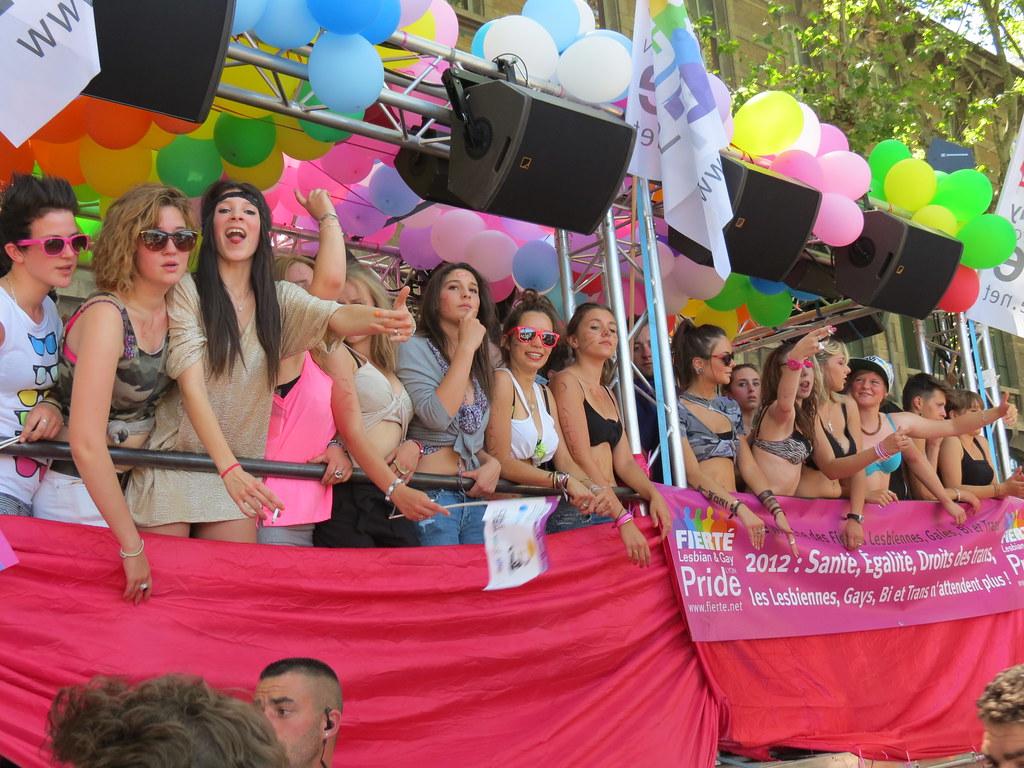Gay pride Lyon 2012