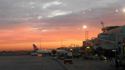 africa sunset airport south april friday johannesburg gauteng 2014 ortambo apr2014 04apr2014
