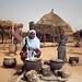 Hadiza prepares a family meal