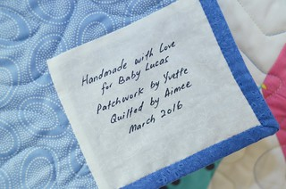 2Quilters - Quilt for Baby Lucas | by midnightcrafts