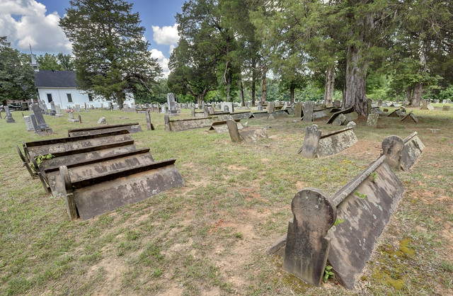 Comb graves, Mt. Pisgah Cemetery, White County, Tennessee 2