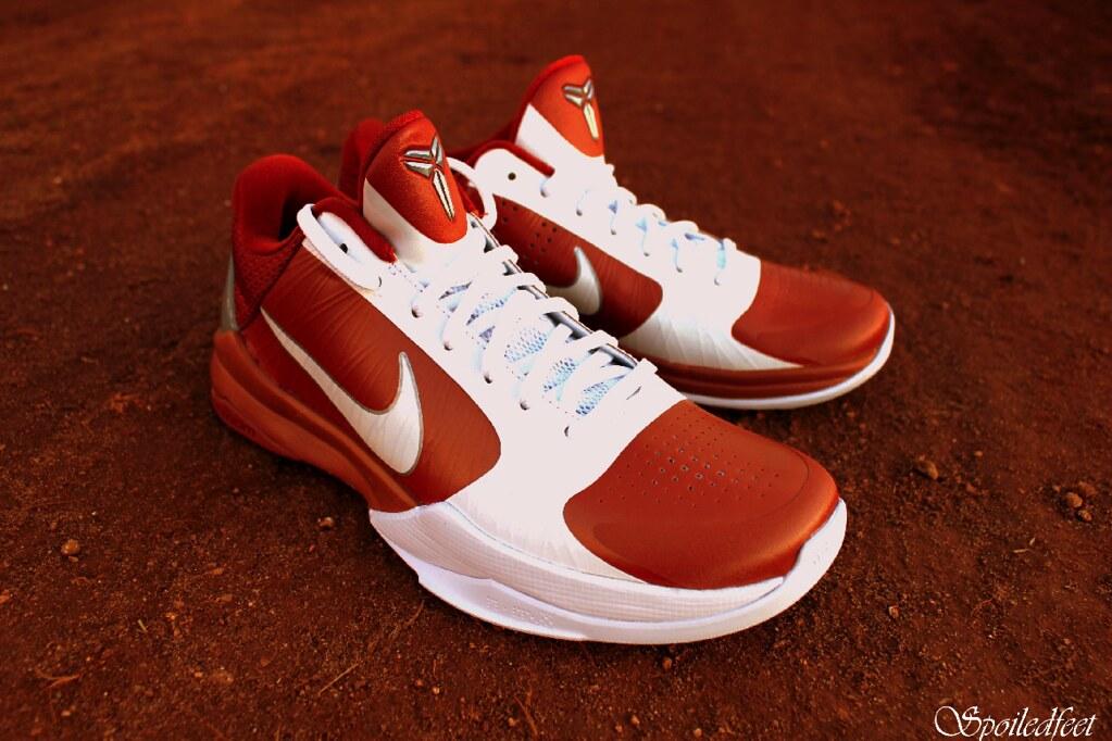 timeless design 444bd be4ad ... Nike Zoom Kobe V TB Texas Longhorns   by Spoiledfeet