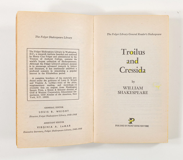 Highlighter Troilus and Cressida