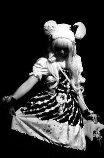 Gothic Lolita - Japan Expo London by Simon & His Camera   by Simon Hadleigh-Sparks