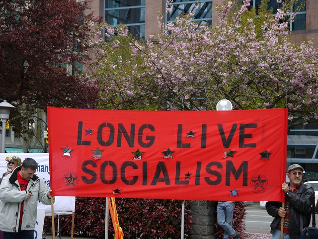 long live socialism Occupy May Day 2012