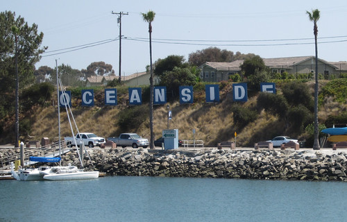 Oceanside Harbor sign (2477) | by DB's travels