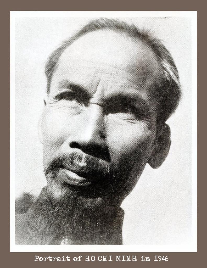 1946 Ho Chi Minh President Of North Vn Vietnam War Pres Flickr