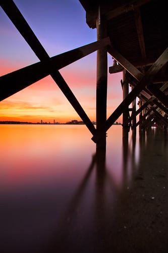 longexposure sunset boston quincy massachusetts squantumpointpark canonef1740mmf4l 5dmarkii bw30nd