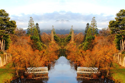 autumn australia fantasy tasmania mirroredimage reversemirror
