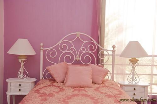 pastel bedroom photo