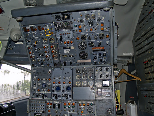 B727 Flight Engineer's Station | by SWF Photography