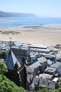 Bird's eye view of Barmouth | by Helen in Wales