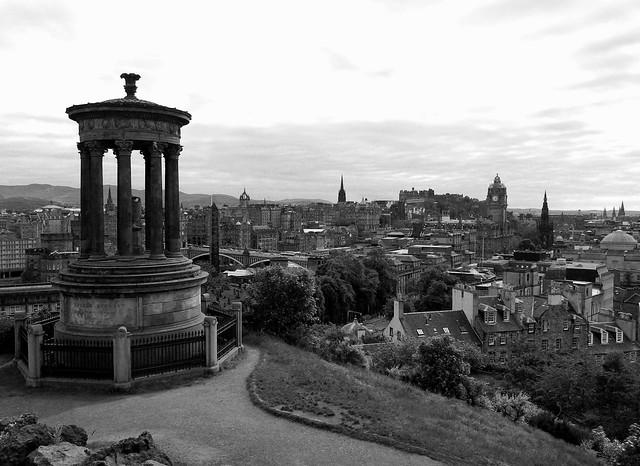 Edinburgh-View from Calton Hill