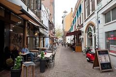 <p>Drieharingstraat of Drieharingsteeg zoals deze er nu uitziet. Waar Eduard van Akaboa precies woonde en zijn werkplaats had is niet duidelijk. Foto: Anna van Kooij.</p>
