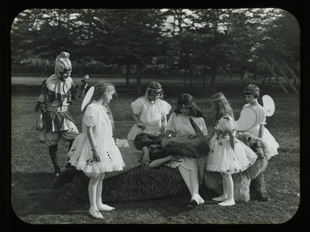 Fairy Scene from A Midsummer Night's Dream, Overbrook Scho