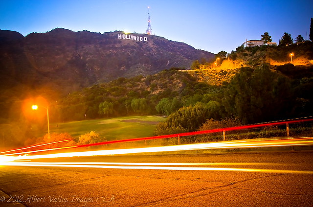 A different approach to the Hollywood Sign!