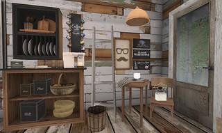 Serenity Style- Summer Camp Kitchen | by Hidden Gems in Second Life (Interior Designer)