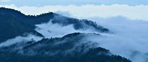 panorama india nature clouds landscape mood tour hills monsoon bengal himalayas hillstation rainyseason kalimpong destinations tuorism