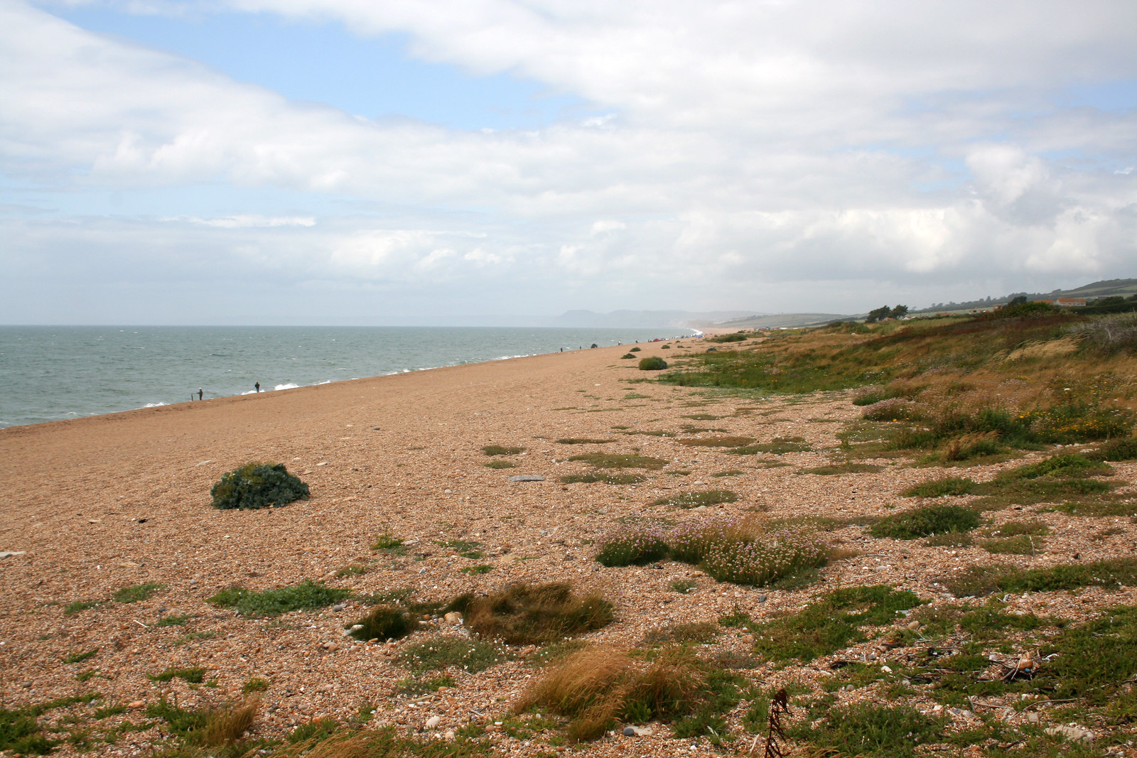 Chesil beach between Abbotsbury and West Bexington