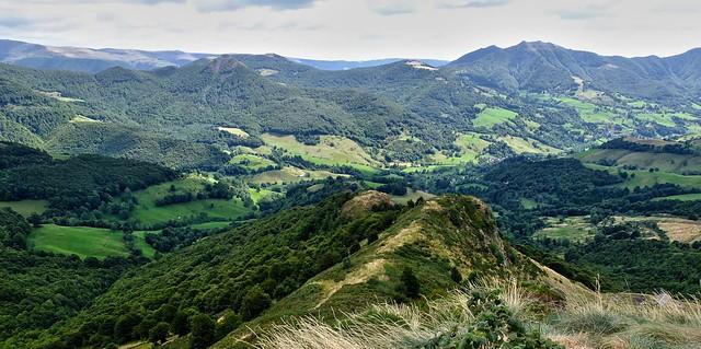 Vallée de la Jordanne (Cantal, Auvergne)