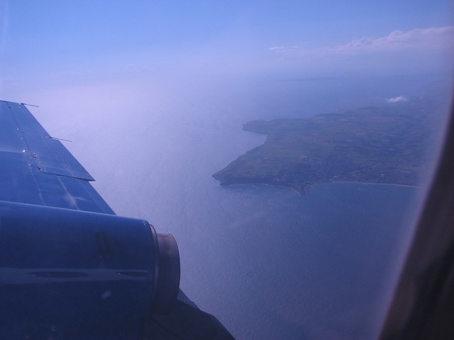 Swanage and the Dorset coast from the air