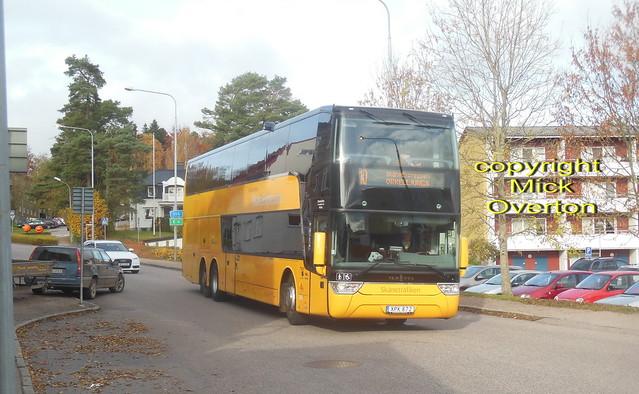 3 months old Scania Van Hool Nobina 3026 XPK872 Skånetrafiken route 10