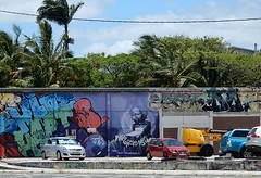 Murals, Cars, and Trees