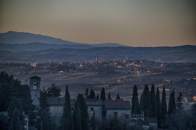 Siena dal Chianti