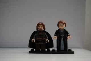 eddard and catelyn stark | by white.lemur