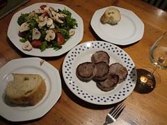 水, 2012-02-22 20:08 - 4日目の夕食
