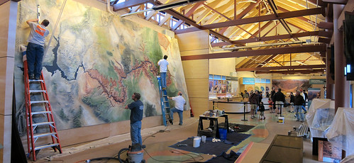 Grand Canyon Nat Park: Visitor Center Exhibit Installation 2643 | by Grand Canyon NPS