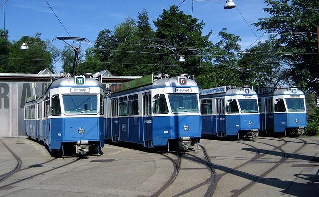 Tram Museum Zürich Serie Be 4/6 1601 - 1726