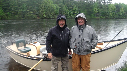 Buster and Mike charged up after lunch | by Maine River Guides