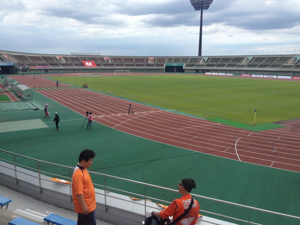 熊谷スポーツ文化公園陸上競技場 Yoshiya Taniwaki Flickr