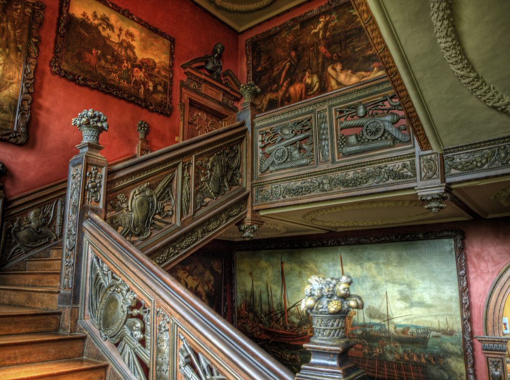 The Grand Staircase In Ham House Surrey The Grand