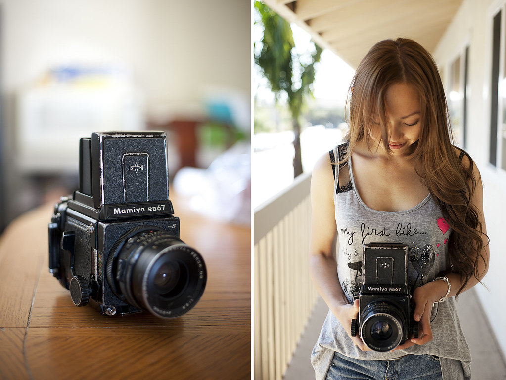 Mamiya RB67 | graduation gift from Tyler :) | Annie Hall