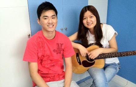 Beginner guitar lessons Singapore Sophia