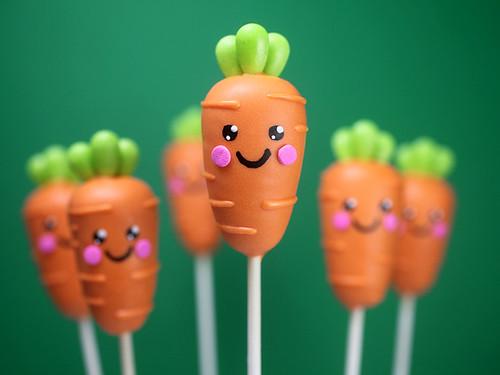 Carrot Cake Pops | by Bakerella