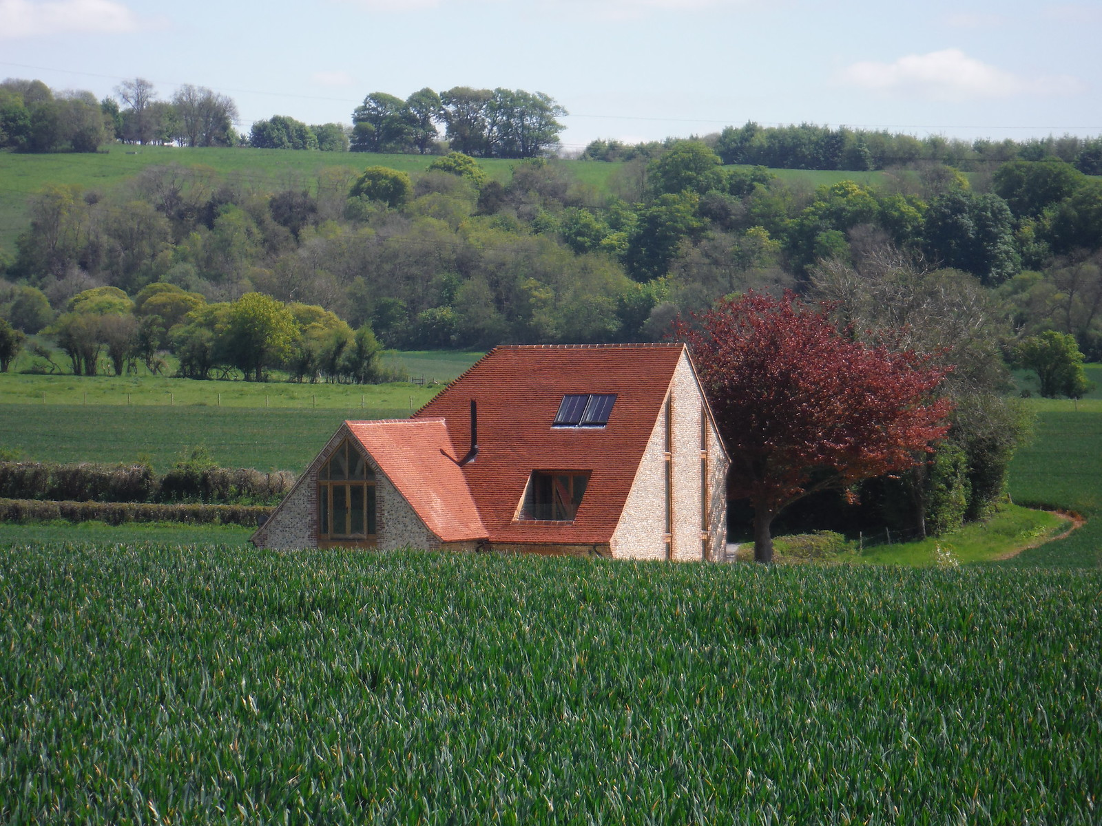 Half a House ? Faraway Cottage, East Marden SWC Walk Rowlands Castle Circular