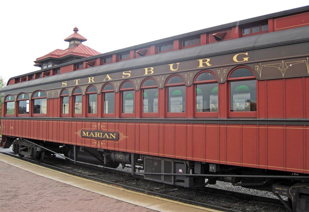 Strasburg Rail Road # 88 passenger car 1