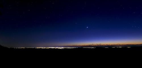 sky sunrise stars gold coast goldcoast starlight goldcoasthinterland