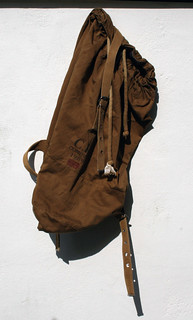 1989 Mille Miglia Race Ruck sack designed by Massimo Osti | by mrphoam